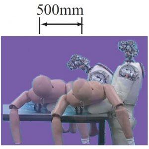 66kgの人形の移動介助動作