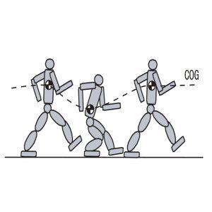 重心の鉛直方向変動